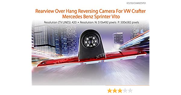 sprinter rear camera wire diagram amazon com xtrons reverse backup rear view camera for mercedes  xtrons reverse backup rear view camera