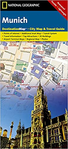 Munich National Geographic Destination City Map National