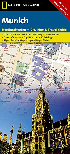 Munich (National Geographic Destination City Map)