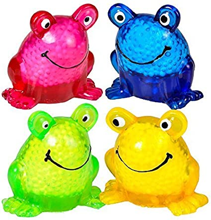 Frog Squeeze Ball Rhode Island Novelty