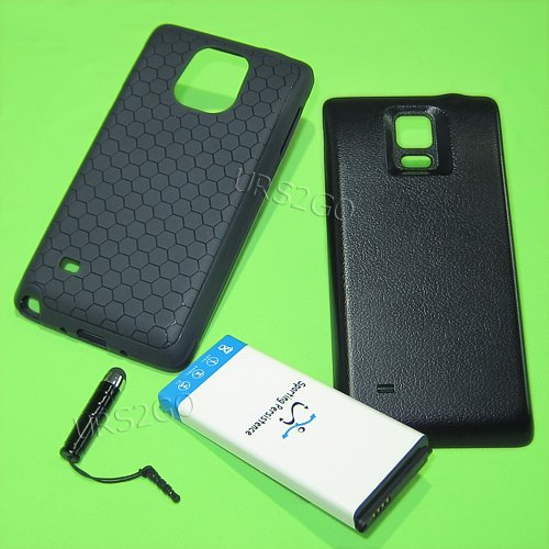 Sporting 11900mAh Extended Double layer Battery Thicker Back Cover TPU