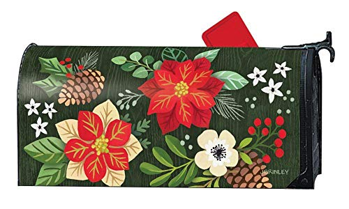 Studio M Christmas 6.5x19 Mailbox Cover MailWrap - 01945 Horse Drawn Sled (Mailbox Covers Wraps)