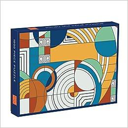Frank Lloyd Wright Foundation Hoffman House Rug Design 1000 Piece Puzzle:  Galison, Frank Lloyd Wright: 9780735346703: Amazon.com: Books