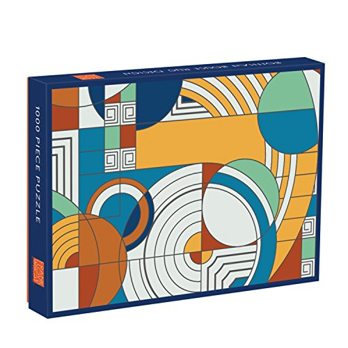 - Galison Frank Lloyd Wright Foundation Hoffman House Rug Design 1000 Piece Puzzle