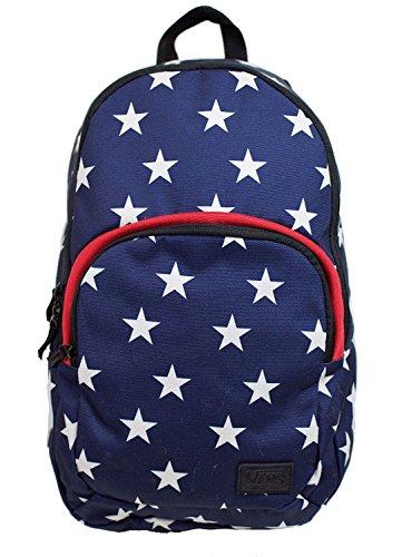 Vans Schooling Backpack (Blue/ White-Star)