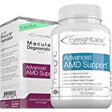 AREDS 2 Eye Vitamins For Macular Degeneration - Vision Supplements To Avoid Vision Loss - Protect Your Macula From Damage - w Lutein, Zeaxanthin & AREDS2 Ingredients - Quality Omega-3s Eye Vitamins
