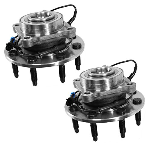 515098 x 2 ( Set of 2 ) Hub Assembly Brand New Front Left and Right ( 8 Lug 4-Wheel ABS ) Fit 07 - 10 Chevy Silverado 2500 3500, 07 - 13 Suburban 2500, 07 - 10 Sierra 2500, 07 - 13 Yukon XL 2500 (2500 Silverado Wheel Chevrolet Front)
