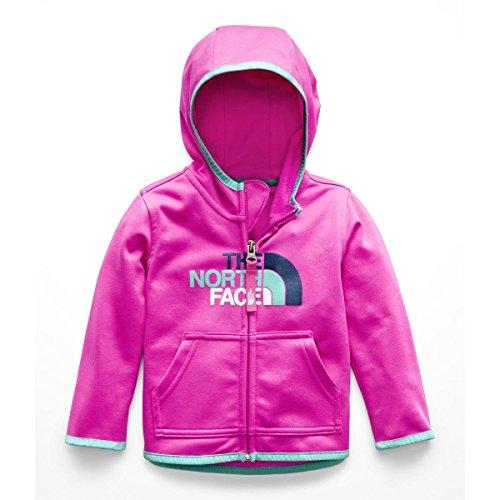 - The North Face Infant Surgent Full Zip Hoodie - Azalea Pink - 6M