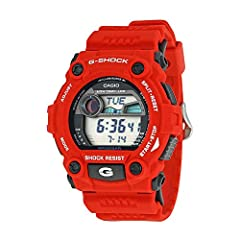 Specifications: New Four Point Design Protection, Large Buttons & Display Format, Tide & Moon Data, Shock Resistant, 200M Water Resistant, Low Temperature Resistant LCD (-20 C / -4 F), Auto EL Backlight with Afterglow, Flash Alert (fl...