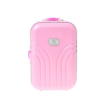 Amazon.com: Forgun Travel Set Suitcase For 18inch American Girl Doll Doll Accessories: Everything Else