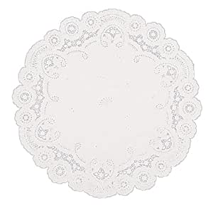 Fox Run 10-Inch Whitle Paper Lace Doilies, Pack of 12