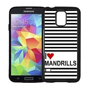 Love Heart Lynxs Samsung Galaxy S5 SV Case - Fits Samsung Galaxy S5 SV