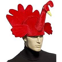 Forum Novelties Men's Plush Red Turkey Hat