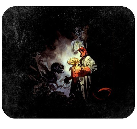 """Price comparison product image Hellboy Mousepad Personalized Custom Mouse Pad Oblong Shaped In 9.84""""X7.87"""" Gaming Mouse Pad / Mat"""