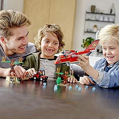 LEGO City Fire Plane 60217 Building Kit (363 Pieces): Toys & Games