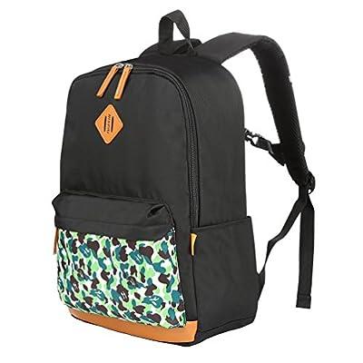 126a6e6105b7 new Vbiger Unisex School Backpack Adorable Student Shoulders Bag ...