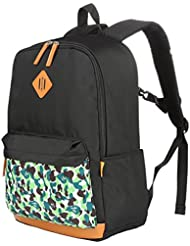 Vbiger Unisex School Backpack Adorable Student Shoulders Bag Multi-functional School Bag Casual Outdoor Daypack...
