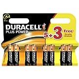 Plus Power AA 5+3 Batteries