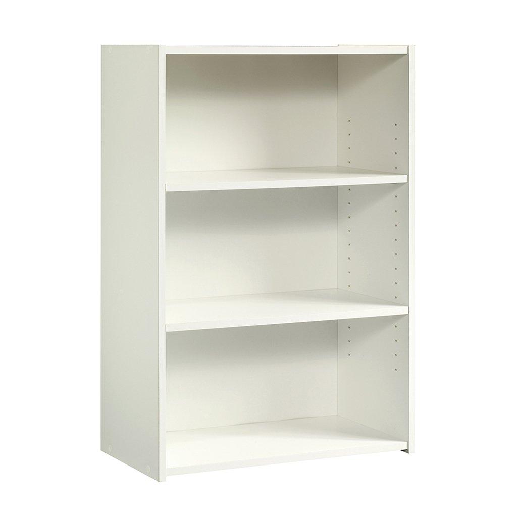 Sauder 415541 Beginnings 3-Shelf Bookcase, Soft White Finish
