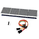 YIKESHU Cylewet MAX7219 Dot Matrix Module 4 in 1 Display for Arduino Microcontroller with 5Pin Line CYT1045