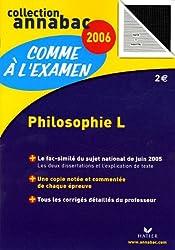 Philosophie L