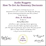 Audio Nuggets: How to Get an Honorary Doctorate | Rick Sheridan