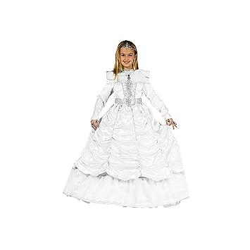 Dress up America Disfraz de Novia Real de niña pequeña: Amazon.es ...