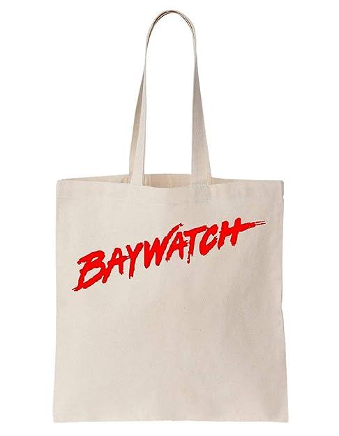 KRISSY Baywatch Series Algodón Bag Tote Bag: Amazon.es: Zapatos y ...