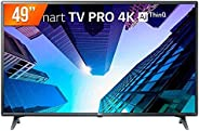 "Smart TV LED 49"" LG ThinQ AI Ultra HD 4K 49UM731C 3 HDMI 2 USB Wi-fi com Conversor Di"