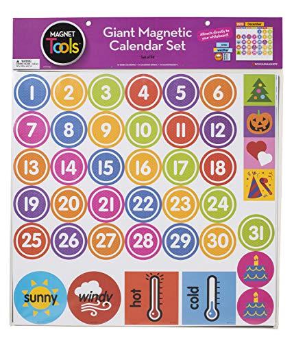Dowling Magnets Magnet Tools Giant Magnetic Calendar Set
