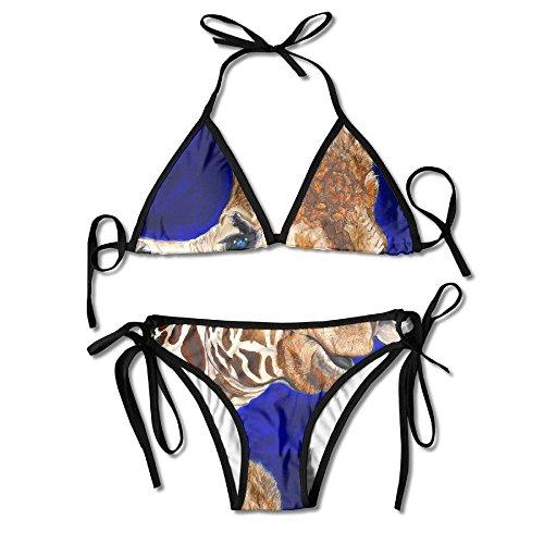 Giraffe Print Bikini Set in Australia - 4