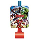 Unique Avengers Party Blowers, 8Ct