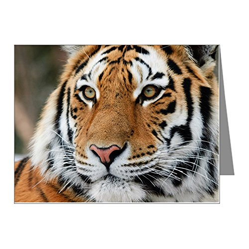 (CafePress - Tiger Note Cards (Pk Of 20) - Blank Note Cards (Pack of 20))
