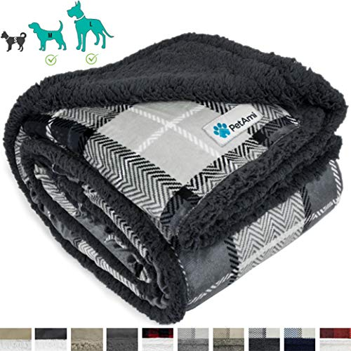 PetAmi Dog Blanket Sherpa