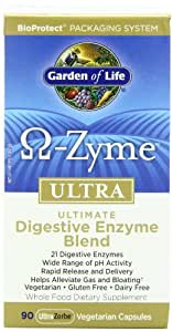 Garden of Life OmegaZyme ULTRA, 90 Capsules