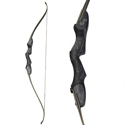 Amazon Com Zshjg Archery 60 Ilf Take Down Recurve Bow Traditional