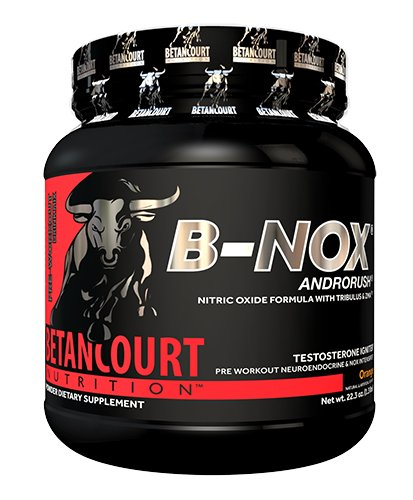 Betancourt Nutrition - B-NOX Androrush, Promotes A Better Pre-Workout by Supporting The Natural Testosterone Response to Exercise, Orange, 22.3 oz (35 Servings)