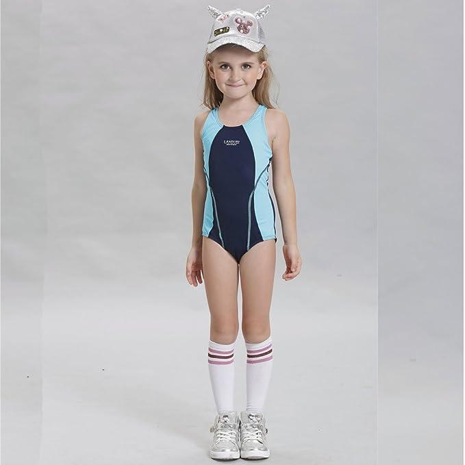 Amazon.com: Traje de baño para niñas y niños de carreras ...