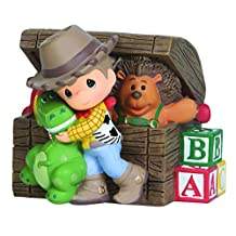 """Precious Moments 143102 Disney Showcase Collection, """"Toy Story"""", Resin Music Box"""