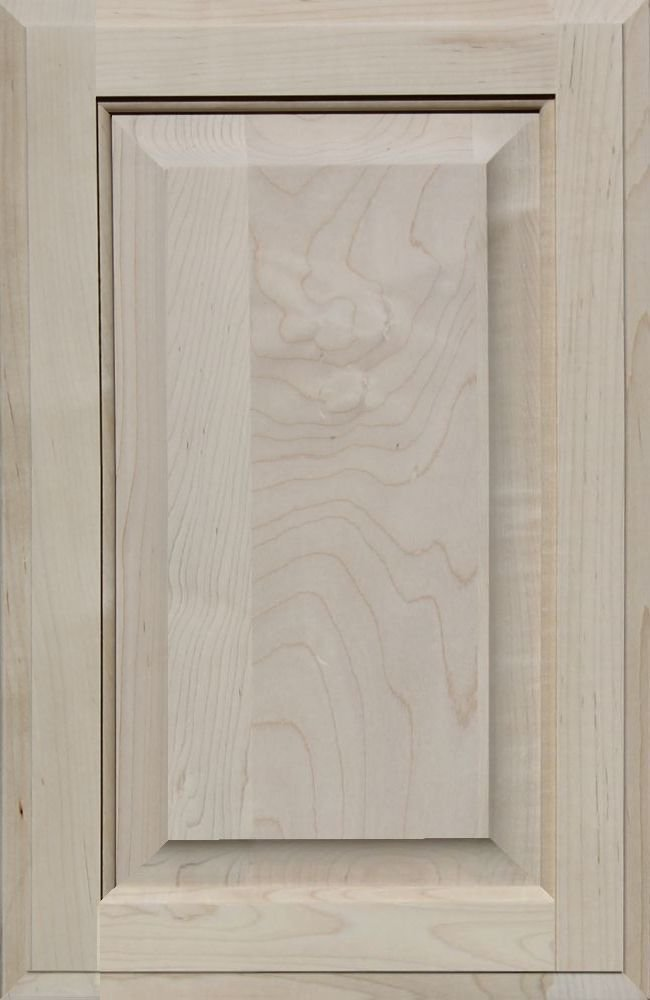 Kendor Unfinished MDF Cabinet Door 20H x 13W Square with Raised Panel