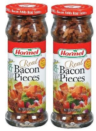 Hormel Real Bacon Pieces (2.8 oz) 2 Pack by Hormel
