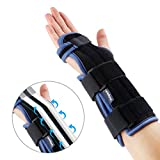 Wrist Splint - Carpal Tunnel Braces - Superior Ergonomic Hand Immobilizer Corrector Fixation for Carpel Tunnel Syndrome, Tendonitis & Acute Sprains, Support All Wrists by Velpeau (Medium)