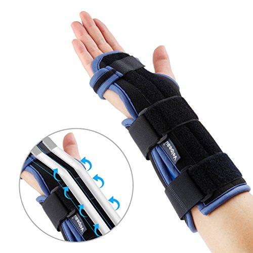 Wrist Splint - Carpal Tunnel Brace - Superior Ergonomic Corrector Fixation for Sleep at Night, Carpel Tunnel Syndrome, Tendonitis & Acute Sprains, Support Left or Right hands by Velpeau (Large)