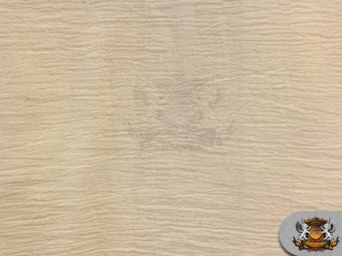 Gauze Solid BEIGE Fabric / 52 Wide / Sold by the yard by FABRIC EMPIRE   B00ECKSJWU