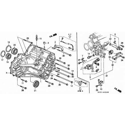 Amazon Com Genuine Honda 28015 P4r 305 Shift Solenoid Set Automotive