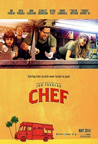 Chef Movie Poster (27.94 x 43.18 cm): Amazon.co.uk: Kitchen & Home