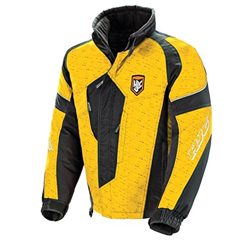HJC Storm Youth Snow Jacket (Yellow/Black, Large)
