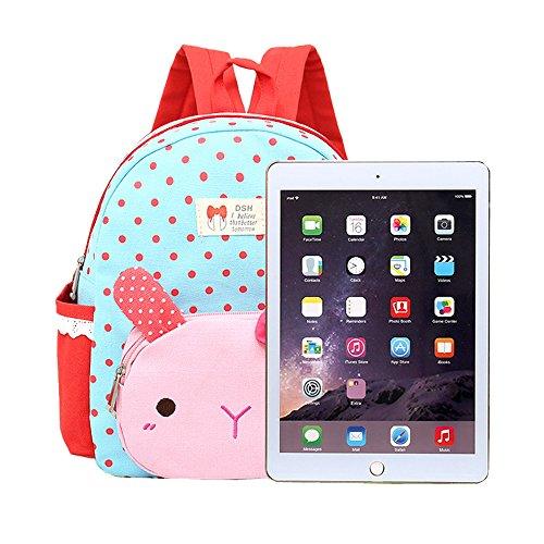 Amazon.com | ZakTone Cute Rabbit Nursery Baby Toddler Backpack Kindergarten Kids School Book Bag (Blue) | Kids Backpacks