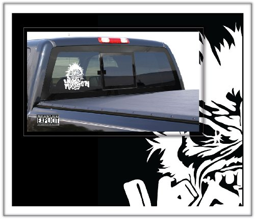 Iron Maiden Large Vinyl Decal (Iron Maiden Window Decal compare prices)