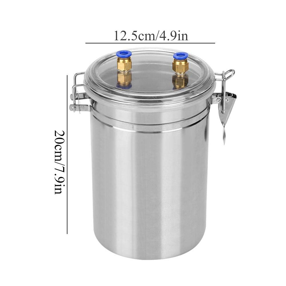 Yosoo 2L Electric Milking Machine Portable Stainless Steel Milker for Sheep Cows (110-240V)(Cows) by Yosoo (Image #5)